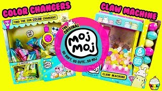 MOJ MOJ Squishies Claw Machine FULL CASE Sun Color Changers Cupcake Kids Club