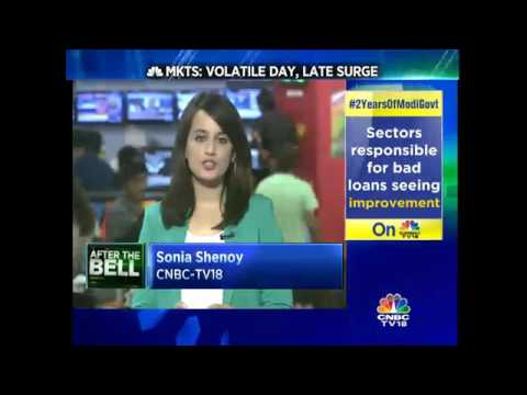 MARKET WRAP: Nifty Ends Above 7,850 Pts In Trade Today, Sensex Closes At 25,704 Pts – May 18, 2016