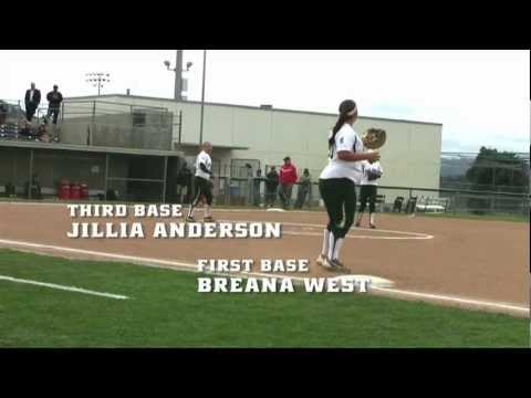 Cal Poly Softball versus Rutgers Highlight Video (March 8, 2013)