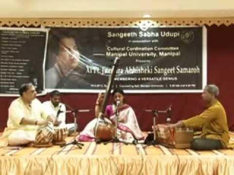Marathi Abhang JOHAR MAIBAP by Mahalaxmi Shenoy at Manipal -...