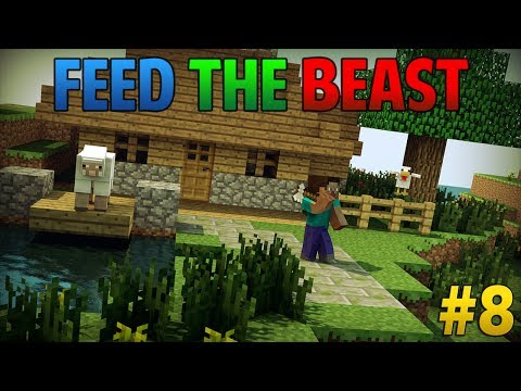 [Feed the Beast] #8 De eerste machines maken!