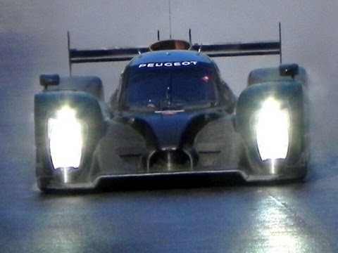 2011 Peugeot 908 LMP1 PURE SOUND!! Test at Monza 24h Le Mans 2011
