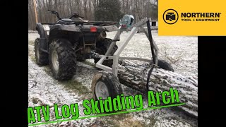 Strongway ATV Log Skidding Arch