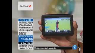 TomTom VIA 1435TM 4.3 Voice-Controlled GPS with Lifetime...
