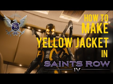 How to Make Yellow Jacket in Saints Row IV