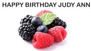 Judy Ann   Fruits & Frutas - Happy Birthday