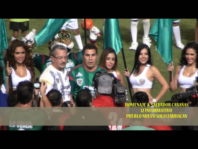 HOMENAJE A SALVADOR CABAÑAS, CHIAPAS JAGUAR