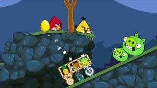 Bad Piggies - FOOLING THE ANGRY BIRDS WHILE THEY SLEEPING
