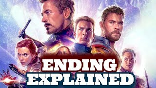 Avengers Endgame Ending Explained + Secret End Credit + Hidden Hero You Missed