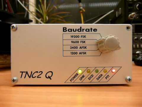 Link DB0SDA DB0PRA 9600 Baud Senden Paket Radio