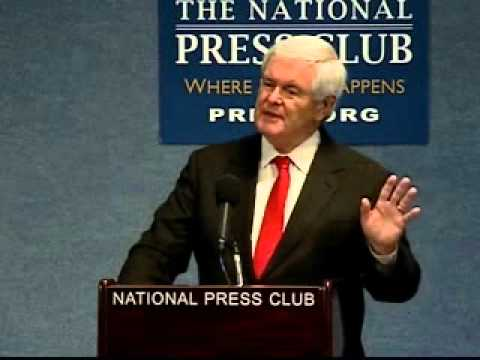 Speaker Newt Gingrich - U.S.-Iran Relations: A Policy Perspective:  Past, Present, and the Future