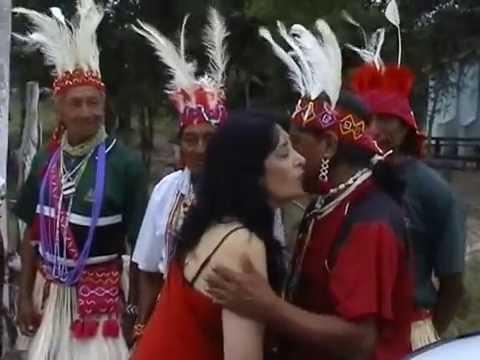 Indianer- Schamanismus-Schamanen Ritual-  Medium Tedora- Paraguay