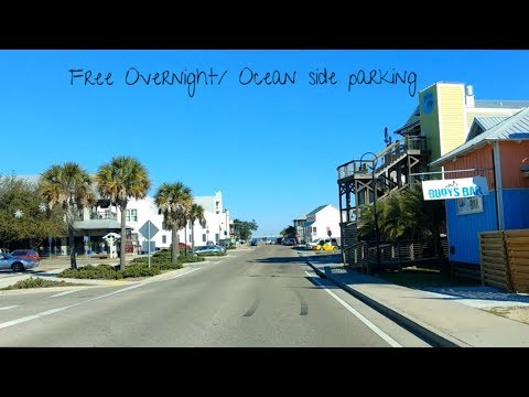 My Favorite Beach Town/ Free Overnight Ocean View Parking