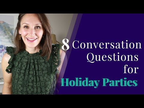 8 Conversation Questions for Holiday Parties [English Conversation]