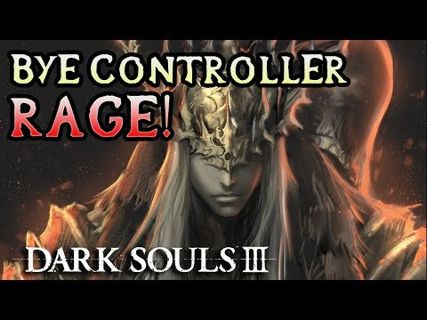 EMO TWINS BREAK CONTROLLER! Dark Souls 3 PC Solo Rage! (#18)