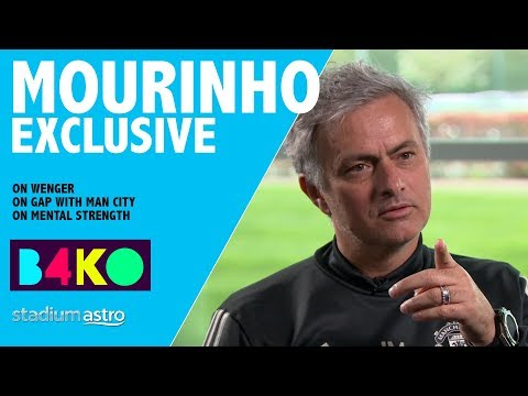 Mourinho on Wenger: I have to admit I feel sorry | B4KO Exclusive | Astro SuperSport