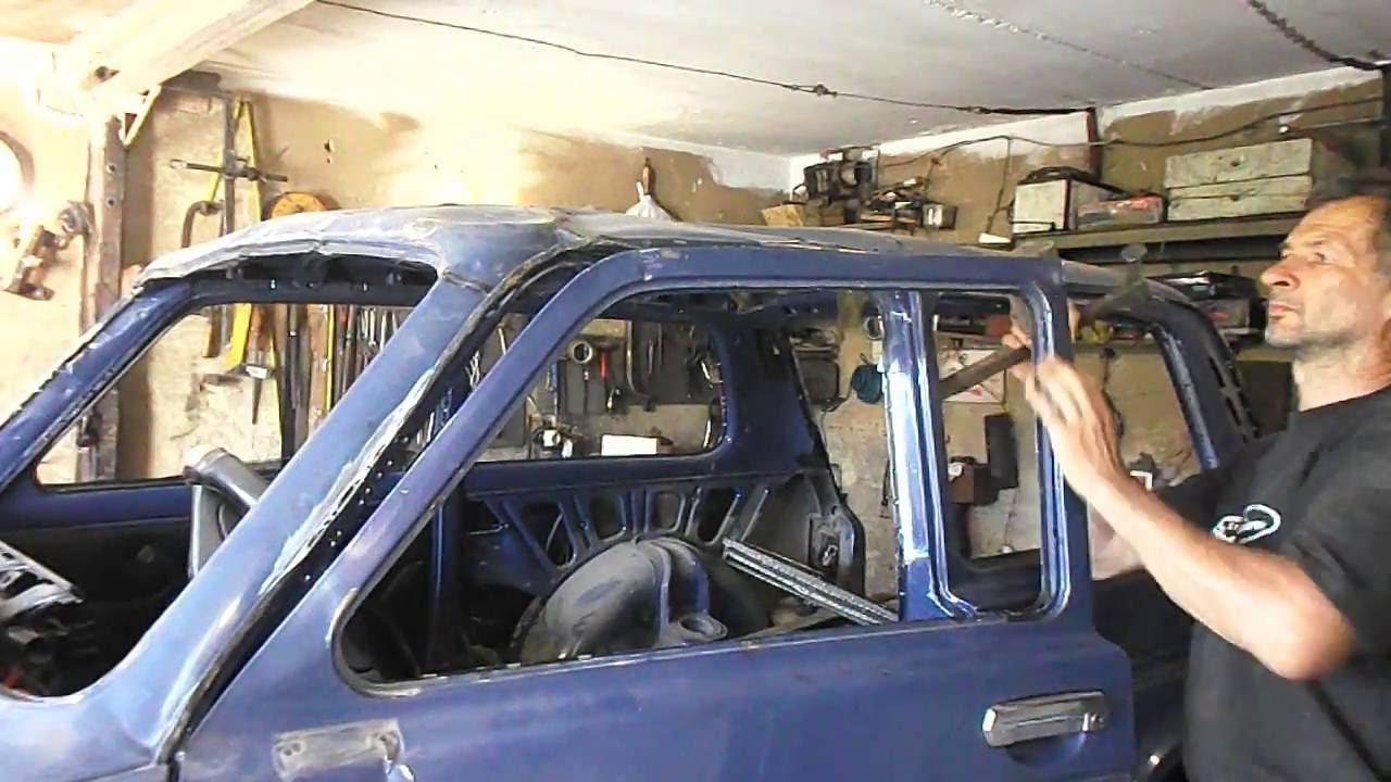Кузовной ремонт ваз 2121