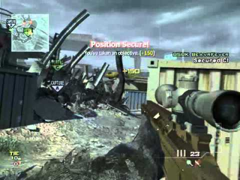 Eg Wicked Saxy - Mw3 Game Clip video