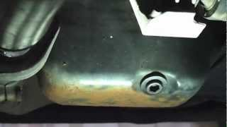 Fiat Punto Rusty Engine Sump Repair
