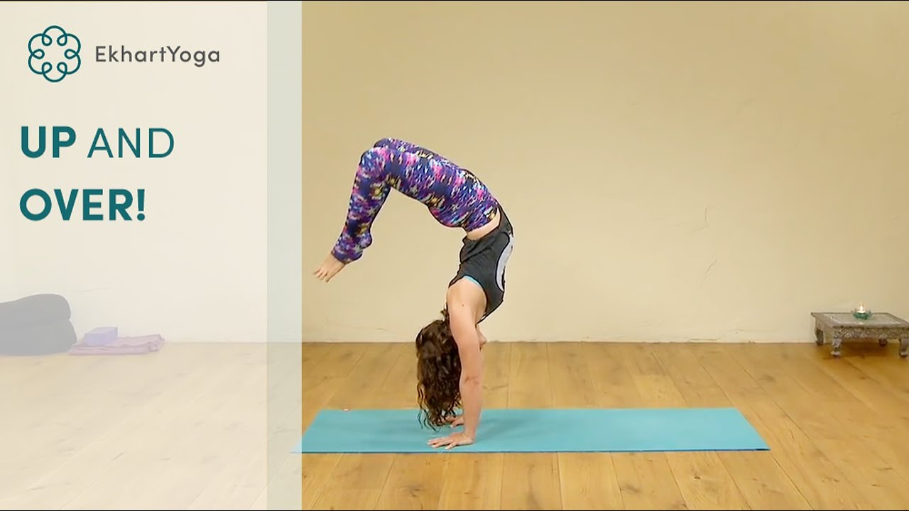 Downward Facing Dog to Handstand to Wheel, Yoga with MacKenzie Miller