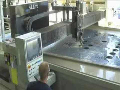 Water Jet Cutting Fiberglass