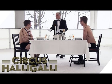 Aushalten: Dinner on Ice Teil 1 | Circus HalliGalli