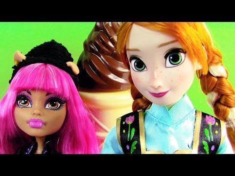 Disney Frozen Doll Princess Anna Classic Store Opening Unboxing Review Howleen Monster High