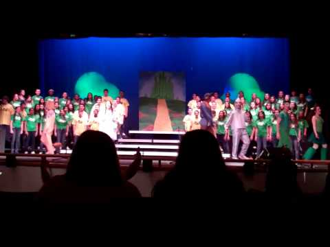 South Windsor High School POPS Concert Journey Through OZ May 2014