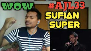 Di Matamu - Sufian Suhaimi | #AJL33 || INDIAN REACTION
