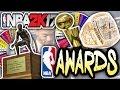 NBA AWARDS SPIN THE WHEEL! NBA 2K17 SQUAD BUILDER -
