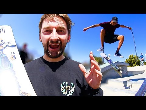 THE WORST BOARD AT FREMONT | FIRST OLLIE EVER