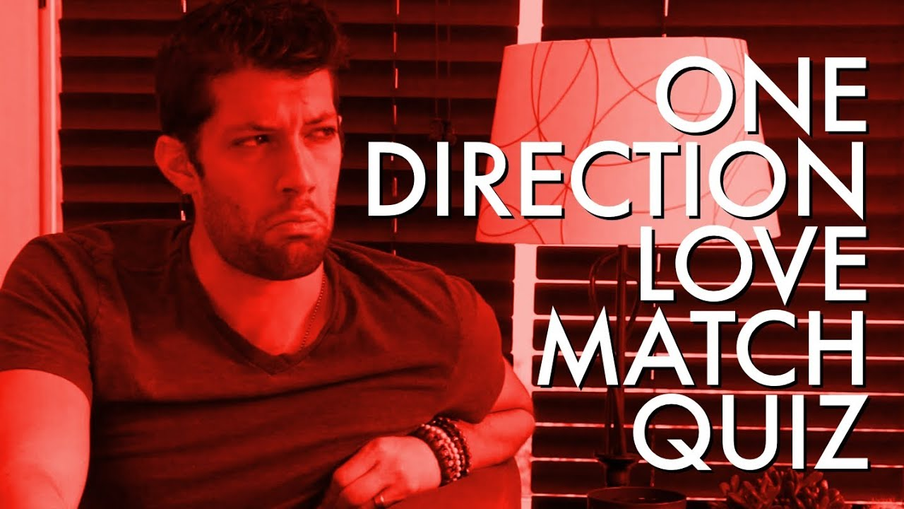 One direction love match quiz youtube