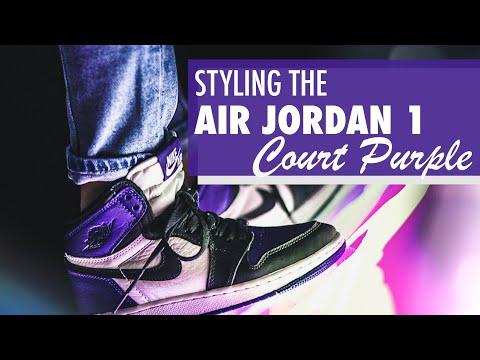 Styling the Air Jordan 1 'Court Purple'   Kicks and Fits