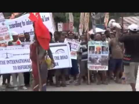 Third World - Revolutionary People (free West Papua Video By New Guinea Rebel) video