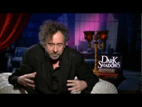 Tim Burton Dark Shadows Interview