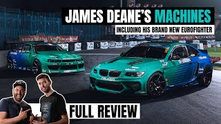 JAMES DEANE'S NISSAN S14 & BMW E92 EUROFIGHTER