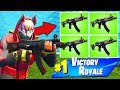 *NEW* QUAD SMG is OP in Fortnite Battle Royale