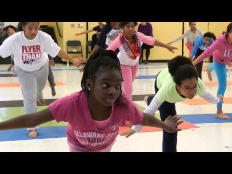 Mother Seton Academy Girls Body Flow Class