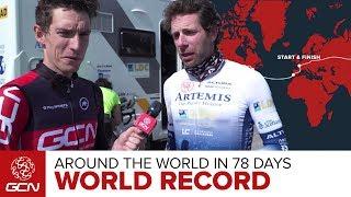 Mark Beaumont Around The World In 78 Days!
