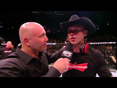 UFC 178 Donald Cerrone Octagon Interview
