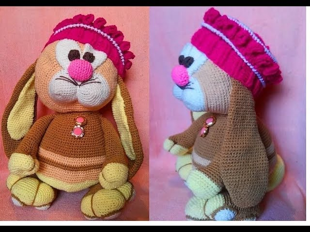 """Мой """"шедевр"""" Кролик Вязание Амигуруми"""