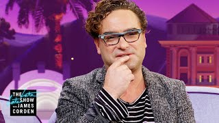 Johnny Galecki Threw Up Before His First Big Concert