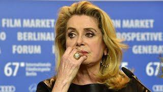 """Harcèlement sexuel dans le cinéma : """"J'ai été protégée de ça"""", confie Catherine Deneuve"""