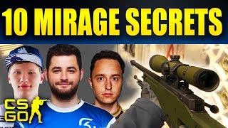 Top 10 CS:GO  Tips To Win Mirage Every Time