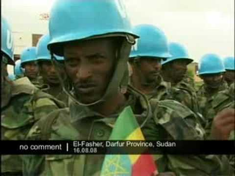 Peacekeepers in Darfur