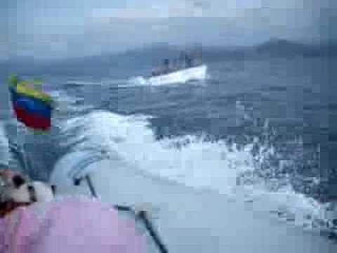 ALENA Y NEPTUNO, regreso de isla larga, Puerto Cabello,