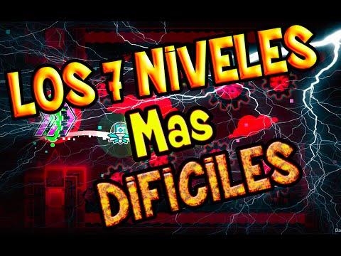 Los 7 Niveles Demoniacos Mas Dificiles de Todo GEOMETRY DASH (13/06/2016)
