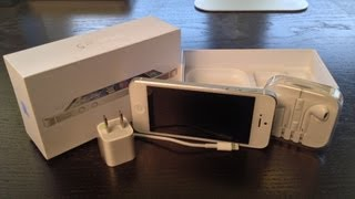Apple iPhone 5 Unboxing (New White iPhone 5), Launch Day Unboxing