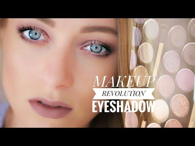 Макияж и обзор моей новой палетки теней Makeup Revolution Fortune Favours The Brave