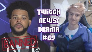 Twitch Drama/News #69 (Trihex Banned, Faze Tfue Mr Beast, Bjorn attacked, Ninja mad at EpicGames)